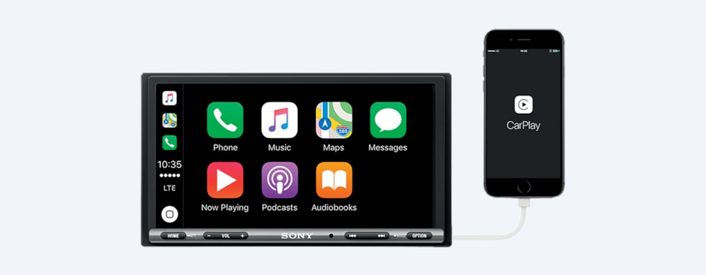 17.6cm Apple CarPlay/Android Auto™ 미디어 리시버 이미지
