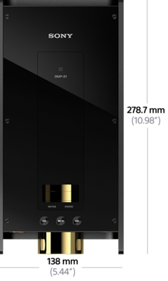DMP-Z1 Digital Music Player Signature Series 사진