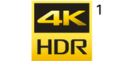 4K HDR 로고